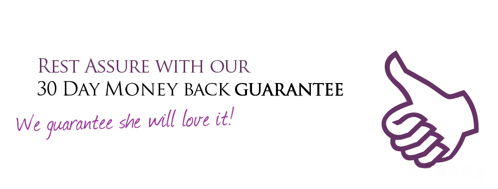Love our 30 day guarantee!