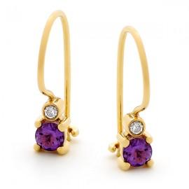 Coloured Stone Earrings